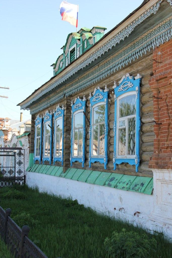 Здание поселковой администрации Багаряка (04.07.2014)