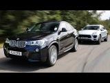 Тест-Драйв | BMW X4 vs Porsche Macan [ENG]