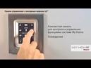 Сенсорные панели управления в системе My Home Legrand