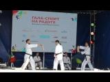 Показательные выступления Косики каратэ на фестивале Гала-спорт
