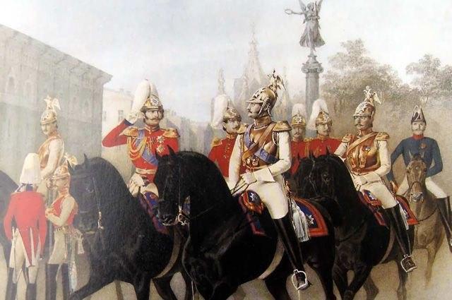 От стрельцов до казаков. Кто и как охранял русских царей? -Hl9_xLRZMY