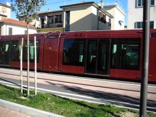 VENEZIA, tram ACTV in via Ca' Rossa Mestre 21 ottobre 2010