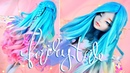 Fairytale Series Repaint Making a Moonlight Wisp Wings Doll Wig and Mods Lagoona Blue