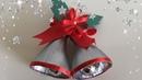 Christmas Bells From Waste Plastic Bottles / DIY / Christmas Decoration Idea For Kid | Priti Sharma