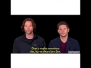 I'm Jensen and I'm here to laugh at Jared