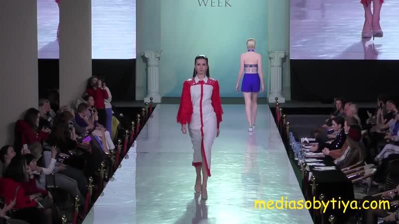 показ на Estet Fashion Week осень 2018 дизайнер Кристина Джоанна