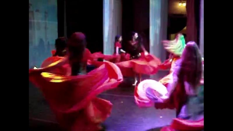 Цыганский танец Аракс и Bohodance Тула