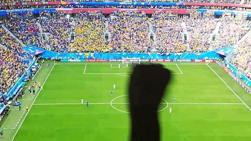 Бразилия - Коста-Рика, гол Неймара.mp4