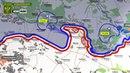 Карта обстрелов ЛНР Обстановка на линии соприкосновения за сутки