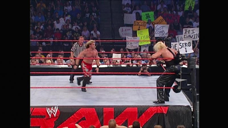 Chris Jericho Vs Kevin Nash - Hair Vs Hair Match - RAW 18.08.2003