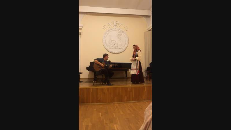 Ирина Терёшина Река гитара Кирилл Борзов