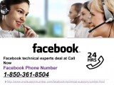 How take Facebook Phone Number 1-850-361-8504 in a split second