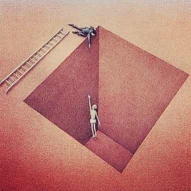 Некоторые люди только делают вид, что хотят помочь.