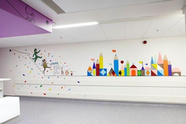 Красочные интерьеры детских больниц C1A2VFgQzEA