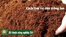 [Kỹ thuật nông nghiệp] XƠ DỪA TRỒNG LAN và cách làm giá thể cho cây trồng