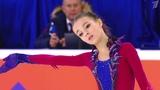 Первое место начемпионате России пофигурному катанию завоевала юная Анна Щербакова. Новости. Первый канал