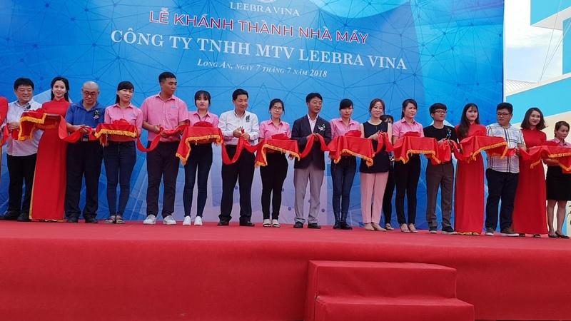 Menu24h - Tổ chức tiệc sự kiện khánh thành nhà máy Leebra Vina- KCN Tân Đức - Long An