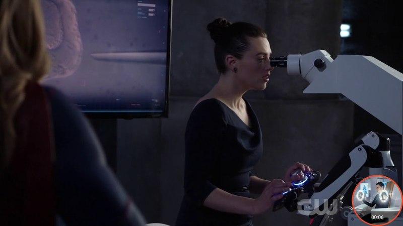 SUPERGIRL 3x19 Supergirl, Lena opening scene part 1
