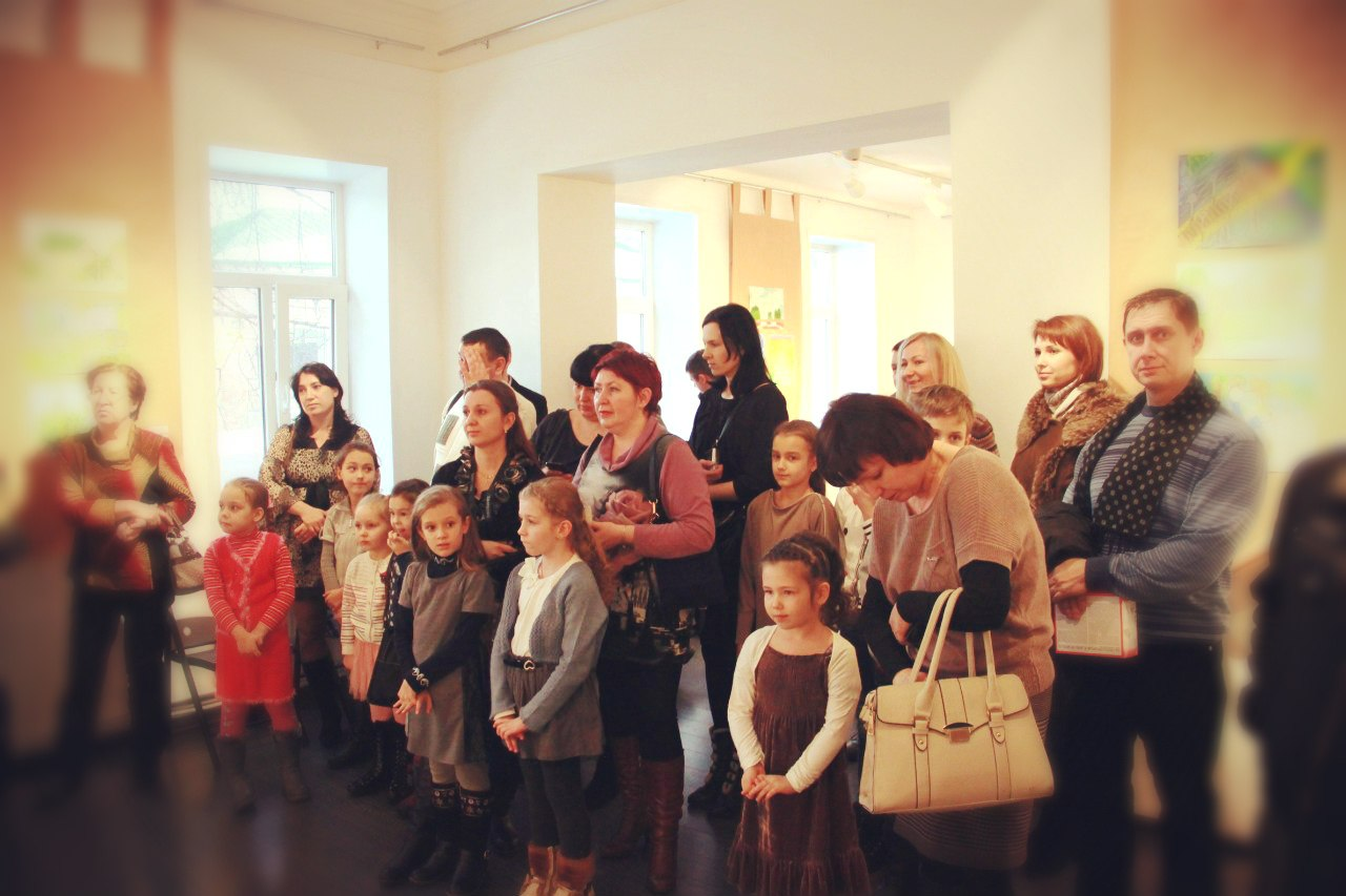 Фотографии с выставки «Симбирск-Ульяновск глазами детей» 2013