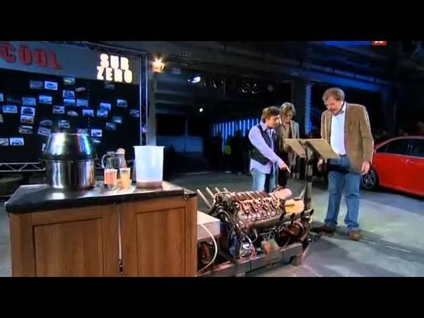 Миксер V8 и коктейль для настоящих мужчин от Top Gear (с переводом)