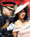 Принц Гарри и Меган Маркл появились на торжестве в честь дня рождения королевы Великобрита…