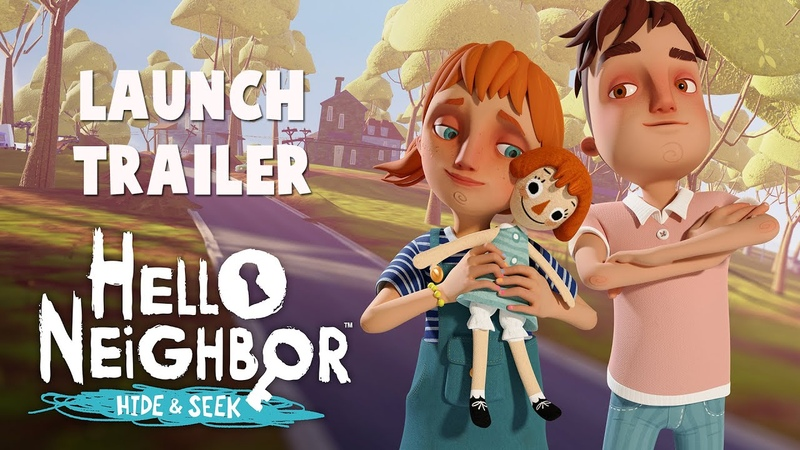 Hello Neighbor: Hide and Seek Launch Trailer (Epic Games Store, PS4, Xbox One, Switch, iOS)
