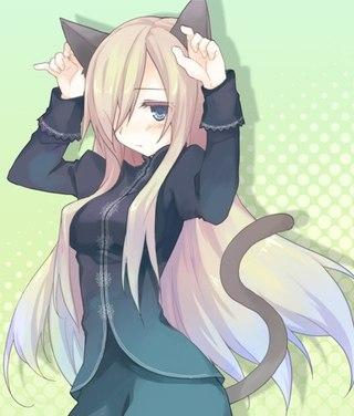 Картинки аниме кошки - 9b88