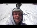 последнее усилие на пути к озеру ледника Актру