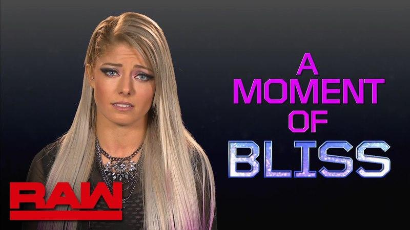 Alexa Bliss has an important public service announcement: Raw, April 23, 2018