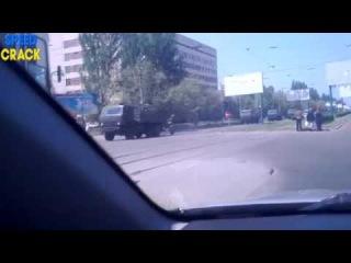 Новости 11 06 2014 Горловка Идет колонна российской военной техники ДНР ЛНР