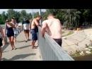 Прыжок с моста(Гидропарк,Киев)