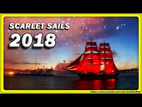 🔴 Scarlet Sails 2018, June 23 \ Алые паруса 2018 • Saint Petersburg | Russia