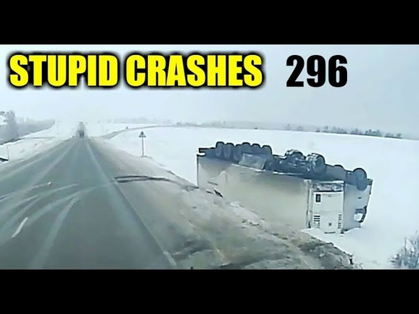 Stupid driving mistakes 296 (December 2018 English subtitles)