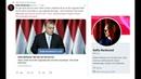 Absurd journalist får frågor om Orbán, Hitler Trump