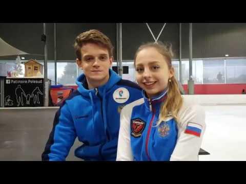 Александра БойковаДмитрий Козловский, интервью, Гран-при Франции 2018