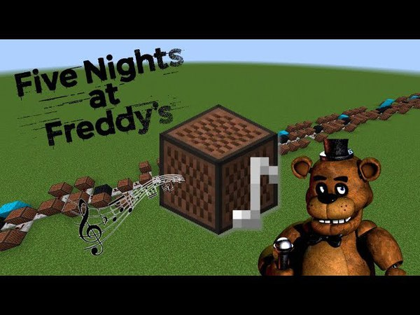 Minecraft: Five Nights at Freddys Theme with Note Blocks