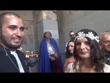 ARMENIA VLOG Pagan Vegetarian Wedding - Ani and Sarkiss, GARNI TEMPLE