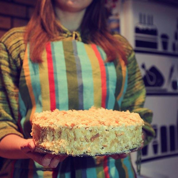 Домашние торты на заказ наполеон