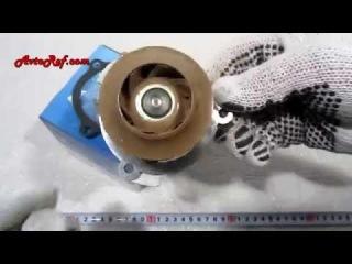 Насос водяной (помпа) Turbo ВАЗ 2108-2115, Ока 1111, 21114-1307010, Лузар LWP 01084