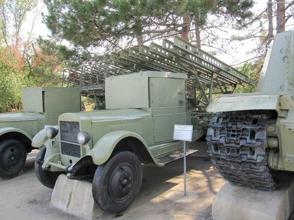 БМ-13-16 на шасси ЗИС-12
