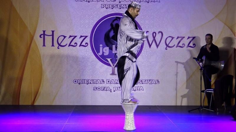 Tito Seif in Bulgaria at Hezz Ya Wezz Oriental Dance Festival 2018