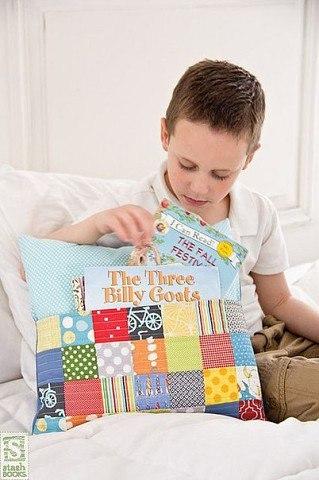 Подушки с кармашками - прелесть) Выкройки подушек можно...