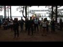 Китеж 2018 День 4 Синенькие показывают танец