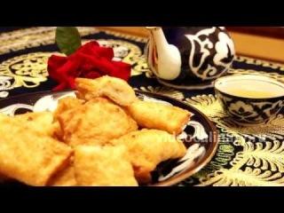 Рецепт   Самса слоёная с картофелем, жаренная во фритюре