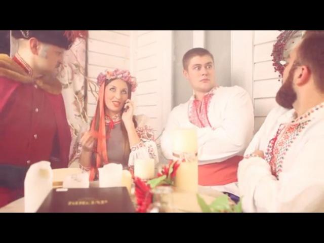 УСы - Пожарный ЗИЛ - цвет КИЗИЛ Пародия Тимати (Лада седан - Баклажан)