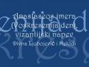 Anastaseos imera Voskresenija den vizantijski napev