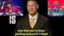 John Cena Interview About BTS J-Hope Mixtape Confirms He is an ARMY