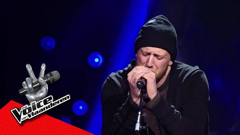Yoeri zingt 'With Arms Wide Open'   Blind Audition   The Voice van Vlaanderen   VTM