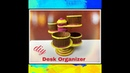 How to make a desk organizer using Newspaper|| Paper craft|| IRIS Craft Corner 5