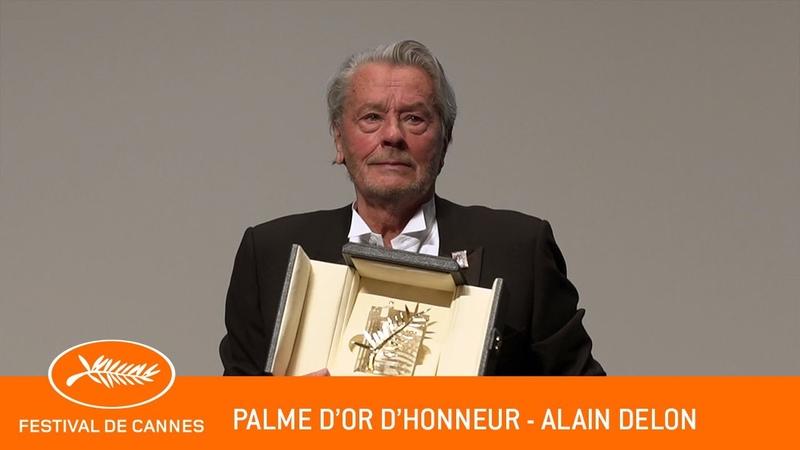 ALAIN DELON - Palme dOr dHonneur - Cannes 2019 - VF
